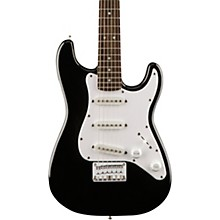 Squier Affinity Mini Strat Electric Guitar with Rosewood Fingerboard Black