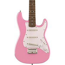 Affinity Mini Strat Electric Guitar with Rosewood Fingerboard Pink