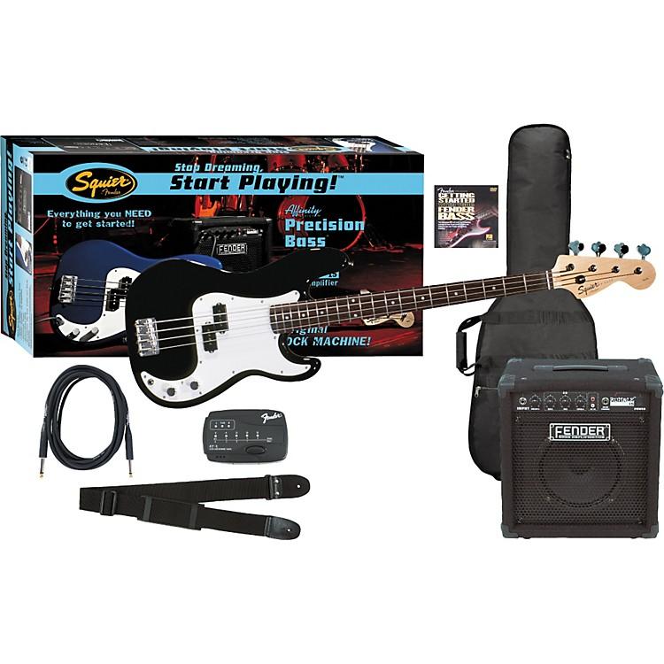 FenderAffinity Precision Bass PackMetallic Blue
