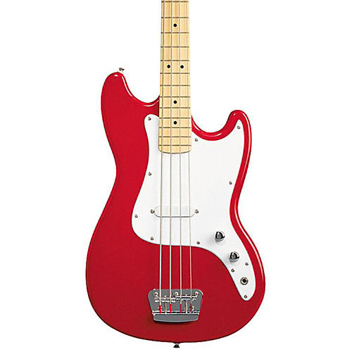 Squier Affinity Series Bronco Bass Guitar Torino Red