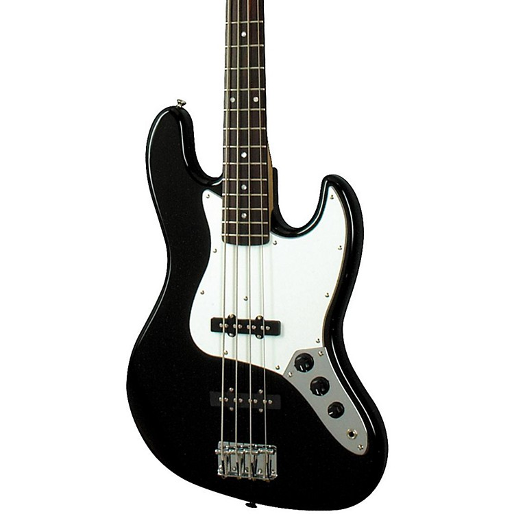 Squier Affinity Series J Bass Black Rosewood Fretboard