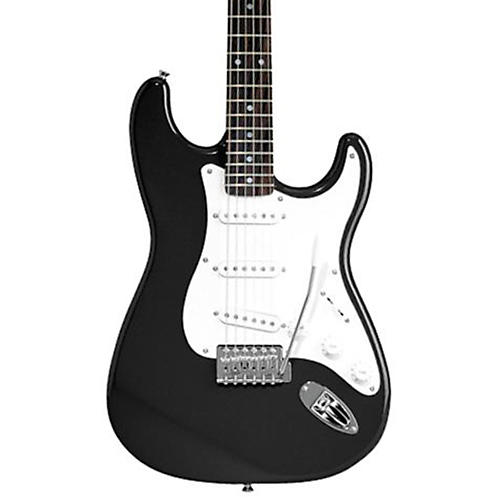 Squier Affinity Series Stratocaster Electric Guitar Black Rosewood Fretboard
