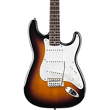 Squier Affinity Series Stratocaster Electric Guitar Level 1 Brown Sunburst Rosewood Fretboard