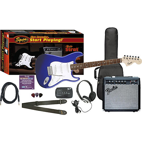 Squier Affinity Special Strat and Frontman 15G Amp Value Pack