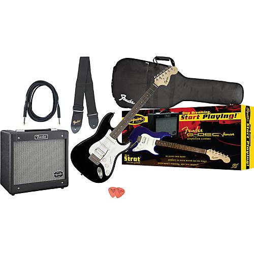 Squier Affinity Strat HSS and G-DEC Junior Amp Value Pack