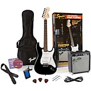 Affinity Stratocaster Electric Guitar Pack w/ 10G Amplifier Black