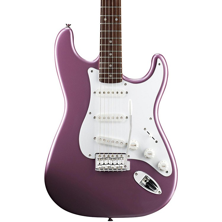 SquierAffinity Stratocaster Electric Guitar with Rosewood FingerboardBurgundy MistRosewood Fingerboard