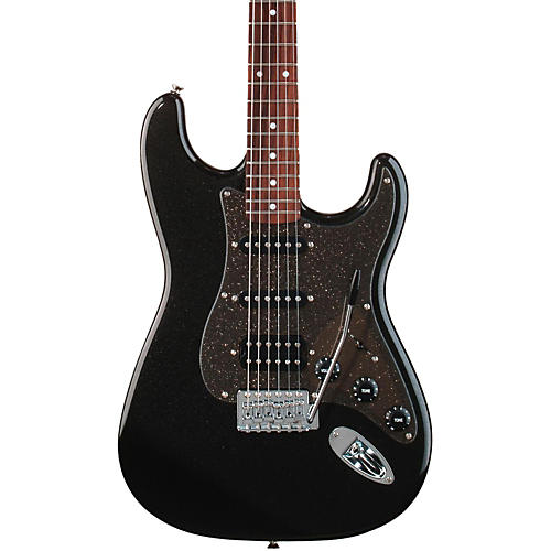 Squier Affinity Stratocaster HSS Electric Guitar Montego Black Metallic