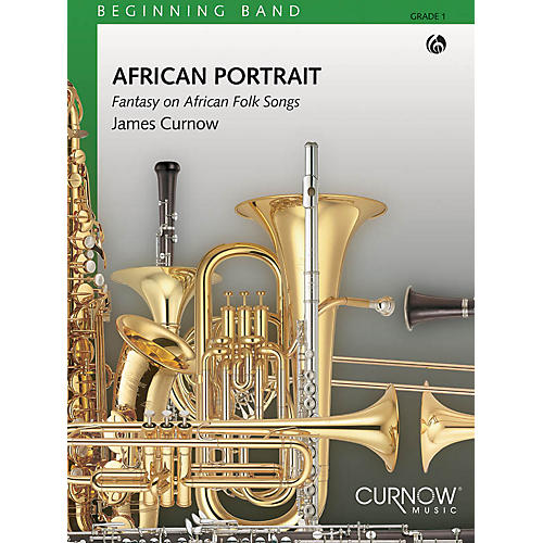 Curnow Music African Portrait (Grade 1 - Score and Parts) Concert Band Level 1 Composed by James Curnow-thumbnail