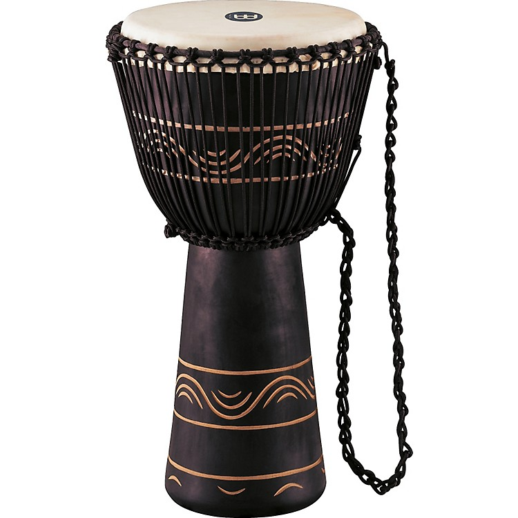 MeinlAfrican Style Rope Tuned Djembe with BagExtra Large