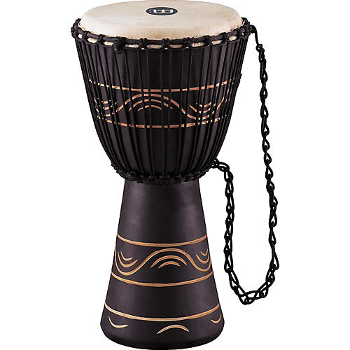 Meinl African Style Rope Tuned Djembe with Bag Medium