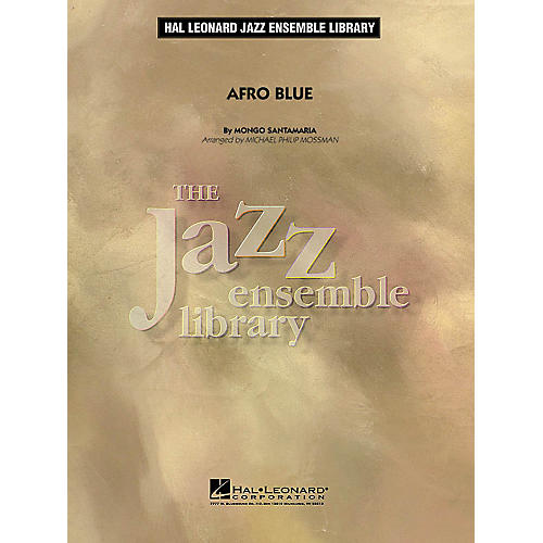 Hal Leonard Afro Blue Jazz Band Level 4 by John Coltrane Arranged by Michael Philip Mossman-thumbnail