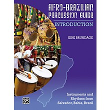 Alfred Afro-Brazilian Percussion Guide Book 1: Introduction