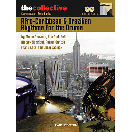Carl Fischer Afro-Caribbean and Brazilian Rhythms for the Drums Book/CDs-thumbnail