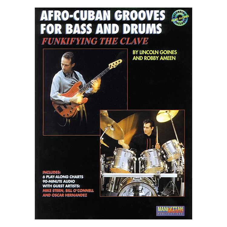 AlfredAfro-Cuban Grooves For Bass and Drums: Funkifying The Clave Book/CD