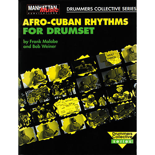 Alfred Afro-Cuban Rhythms for Drumset (Book/CD)-thumbnail