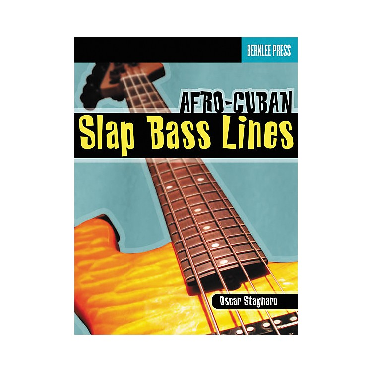 Berklee Press Afro-Cuban Slap Bass Lines (Book/CD)