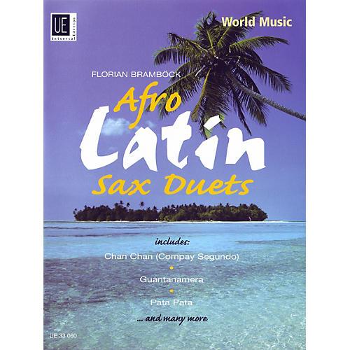 Theodore Presser Afro-Latin Sax Duets (Book + Sheet Music)-thumbnail
