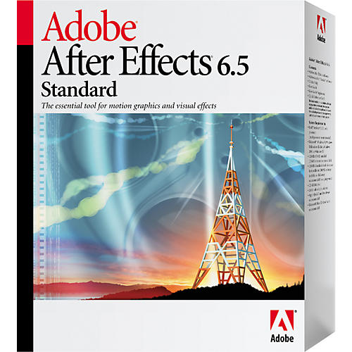 Adobe After Effects 6.5 Standard Version
