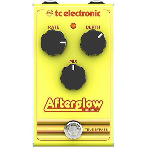 TC Electronic Afterglow Chorus Effect Pedal-thumbnail