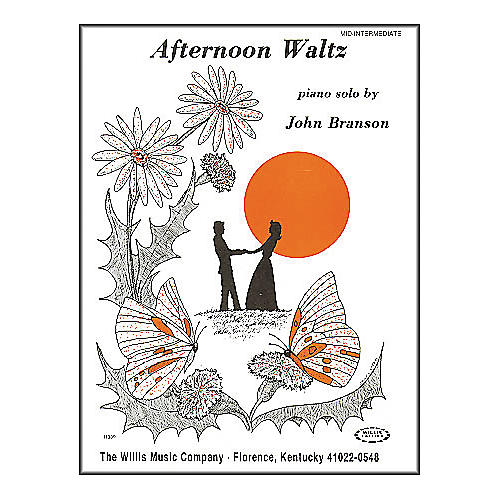Willis Music Afternoon Waltz Later Elementary Piano Solo by John Branson