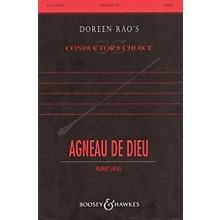 Boosey and Hawkes Agneau de Dieu (Lamb of God) SATB DV A Cappella composed by Rupert Lang