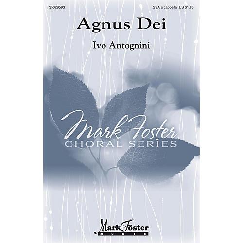 Mark Foster Agnus Dei SSA A Cappella composed by Ivo Antognini-thumbnail