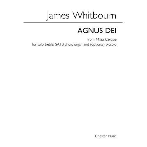 Music Sales Agnus Dei from Missa Carolae SATB Composed by James Whitbourn-thumbnail
