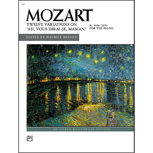 Alfred Ah vous dirai-je Maman K. 265 12 Variations on-thumbnail