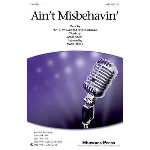 Shawnee Press Ain't Misbehavin' SATB by Thomas