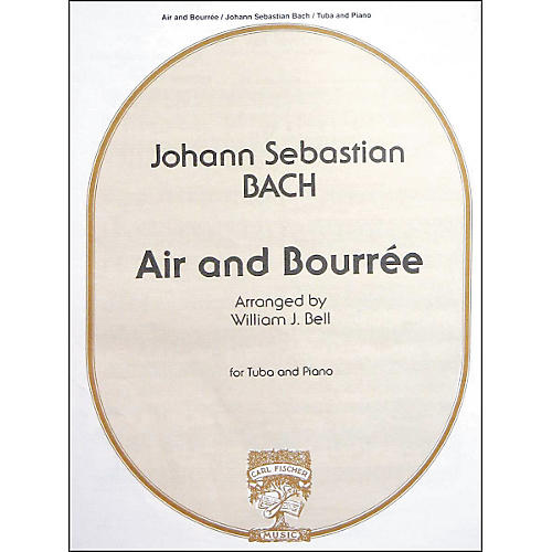 Carl Fischer Air And Bourree