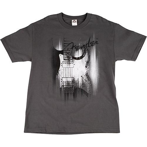 Fender Airbrushed Strat T-Shirt Large Gray-thumbnail