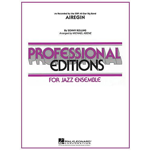 Hal Leonard Airegin Jazz Band Level 5 Arranged by Michael Abene