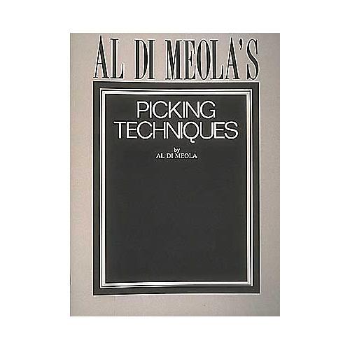 Hal Leonard Al Di Meola's Picking Techniques Book-thumbnail
