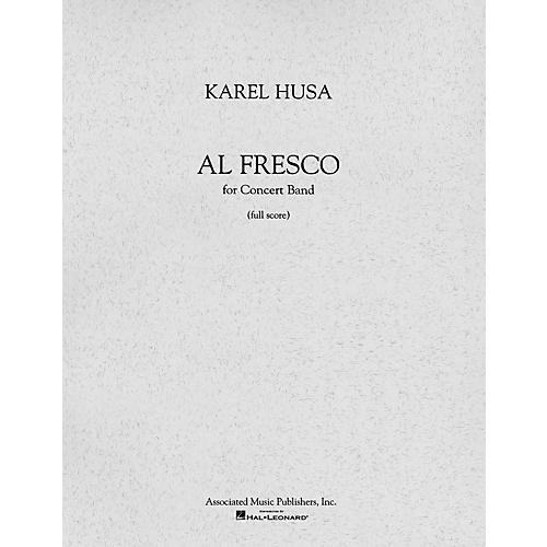 Associated Al Fresco (Full Score) Concert Band Composed by Karel Husa-thumbnail