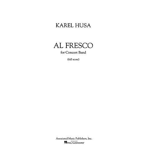 Associated Al Fresco (Score and Parts) Concert Band Level 4-5 Composed by Karel Husa-thumbnail