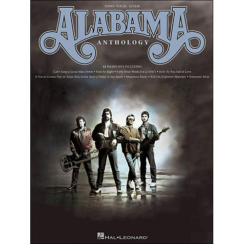 Hal Leonard Alabama Anthology arranged for piano, vocal, and guitar (P/V/G)-thumbnail