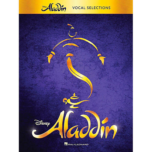 Hal Leonard Aladdin - Broadway Musical Vocal Selections w/ Piano Accompaniment-thumbnail