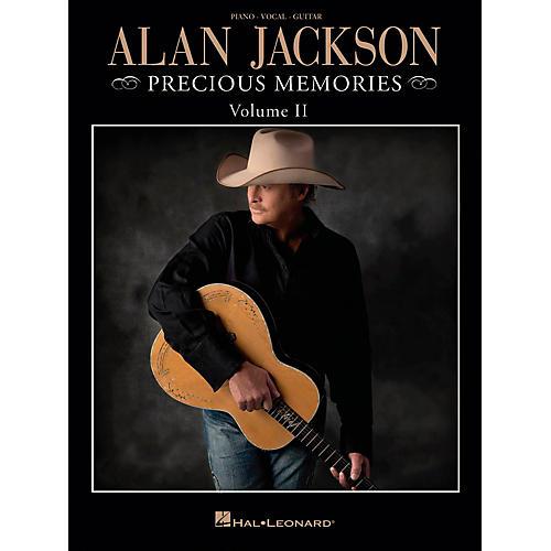 Hal Leonard Alan Jackson - Precious Memories Volume 2 for Piano/Vocal/Guitar (P/V/G)-thumbnail
