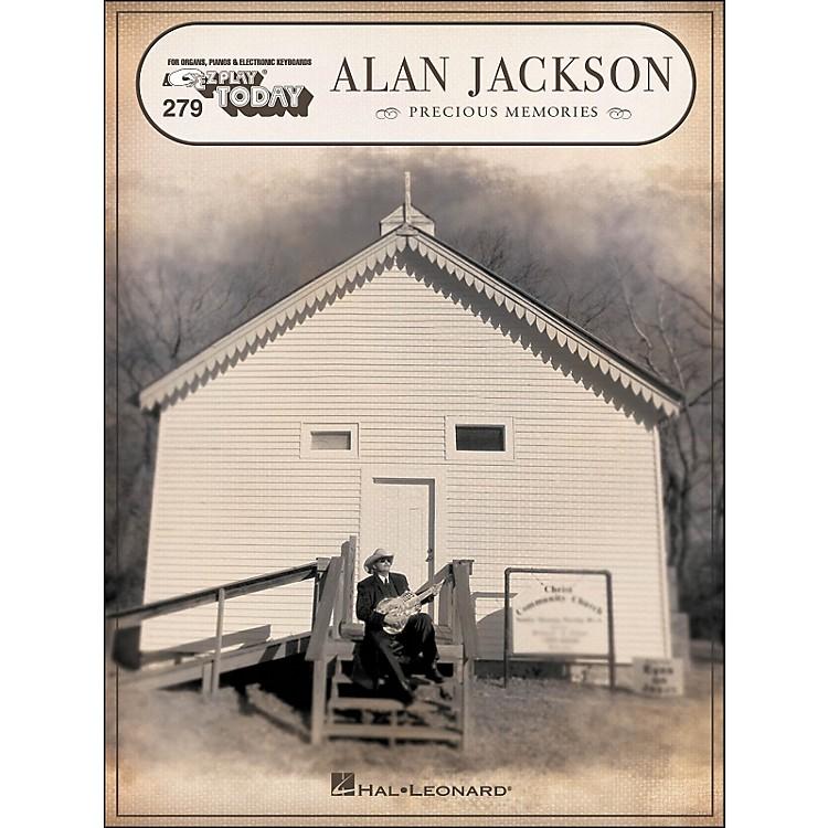 Hal LeonardAlan Jackson Precious Memories E-Z Play 279