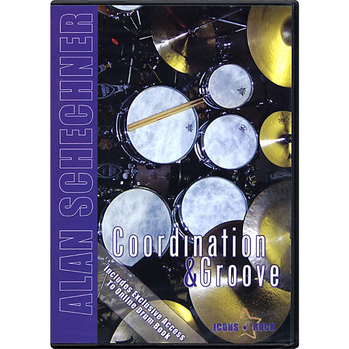 Music Star Productions Alan Schechner: Drums Coordination and Groove DVD