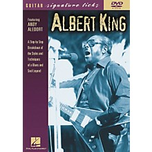 Hal Leonard Albert King Guitar Signature Licks (DVD)