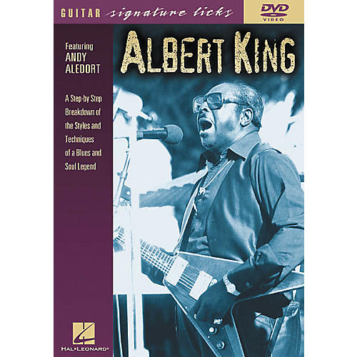 Hal Leonard Albert King Guitar Signature Licks (DVD)-thumbnail