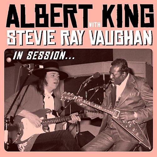 Albert King With Stevie Ray Vaughan In Session Vinyl Lp