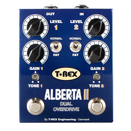 T-Rex Engineering Alberta II Dual Overdrive Guitar Effects Pedal