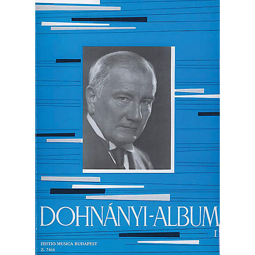 Editio Musica Budapest Album for Piano - Volume 1 EMB Series Composed by Ernst von Dohnányi