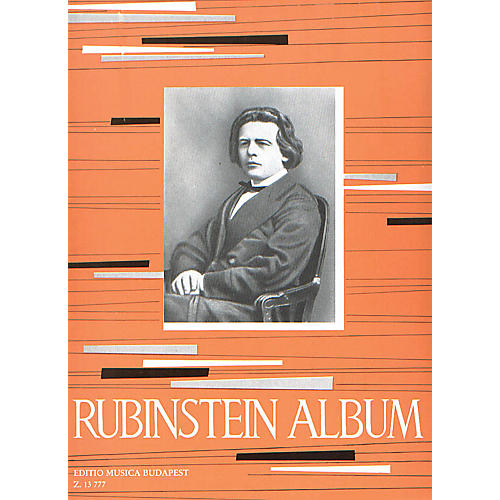 Editio Musica Budapest Album for Piano EMB Series Composed by Anton Rubinstein