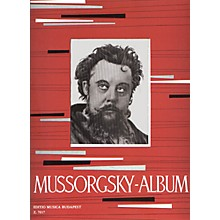 Editio Musica Budapest Album for Piano EMB Series Composed by Modest Petrovich Mussorgsky
