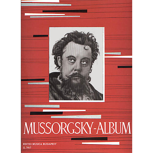 Editio Musica Budapest Album for Piano EMB Series Composed by Modest Petrovich Mussorgsky-thumbnail