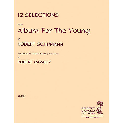 Hal Leonard Album for the Young (12 Selections for Flute Choir) Robert Cavally Editions Series by Robert Cavally-thumbnail